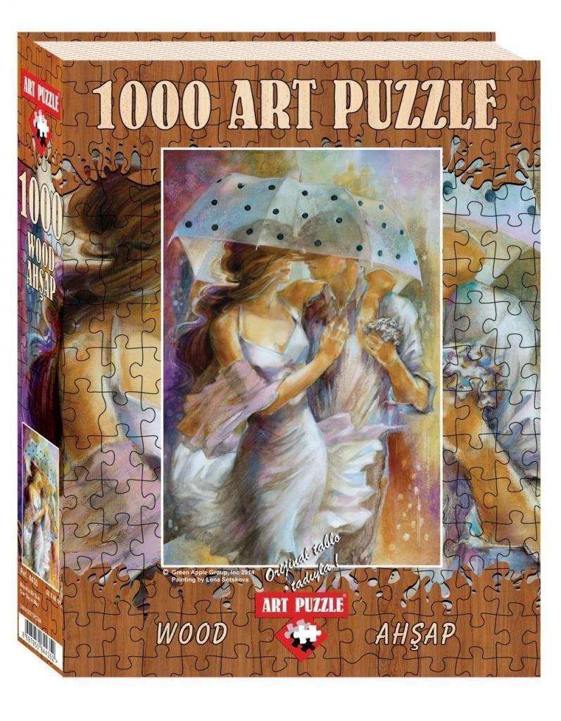 Art Puzzle Mayıs\'ta Bir Gün 1000 Parça Ahşap