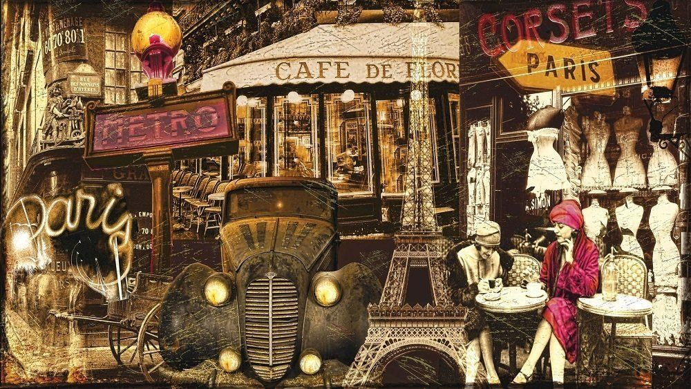Art Puzzle Paris Esintileri 1000 Parça Panorama