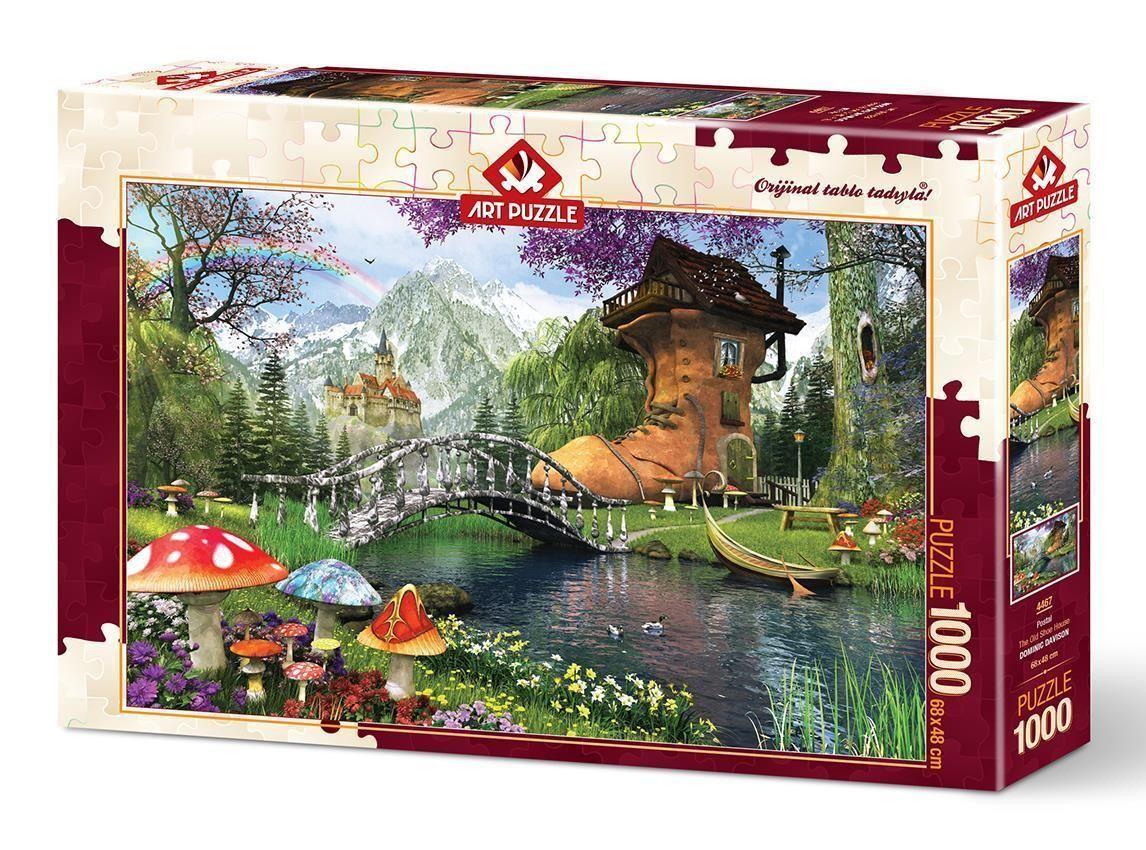Art Puzzle Postal 1000 Parça