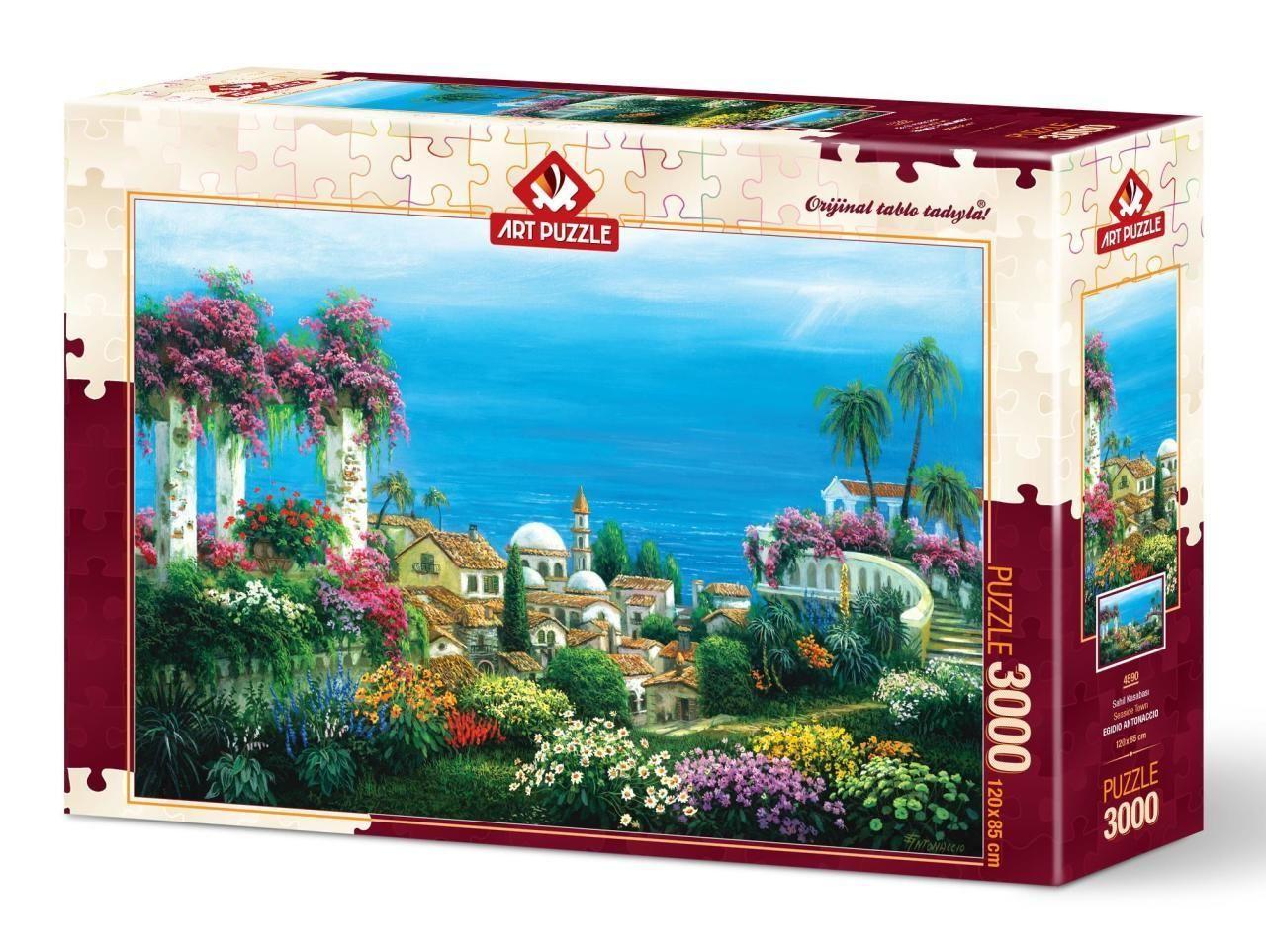 Art Puzzle Sahil Kasabası 3000 Parça