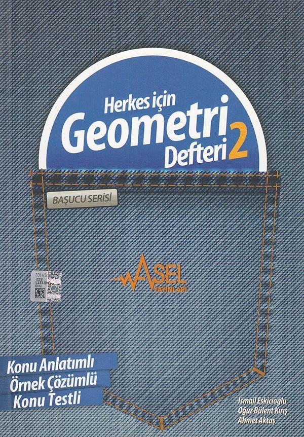 Asel Başucu Serisi Herkes için Geometri 2 Defteri