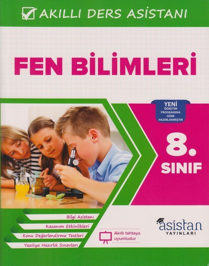 Asistan Yayınları 8. Sınıf Fen Bilimleri Akıllı Ders Asistanı