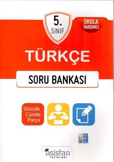 Asistan Yayınları 5. Sınıf Türkçe Soru Bankası