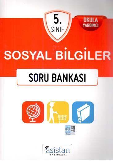Asistan Yayınları 5. Sınıf Sosyal Bilgiler Soru Bankası