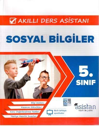 Asistan Yayınları 5. Sınıf Sosyal Bilgiler Akıllı Ders Asistanı