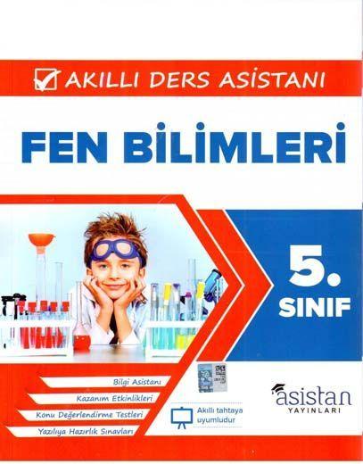 Asistan Yayınları 5. Sınıf Fen Bilimleri Akıllı Ders Asistanı