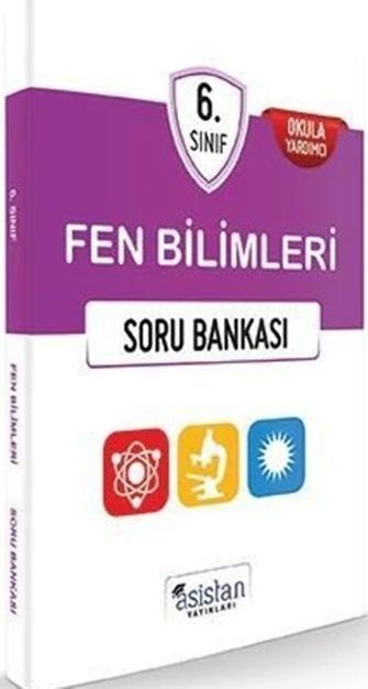 Asistan Yayınları 6. Sınıf Fen Bilimleri Soru Bankası