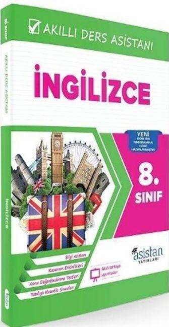 Asistan Yayınları 8. Sınıf İngilizce Akıllı Ders Asistanı
