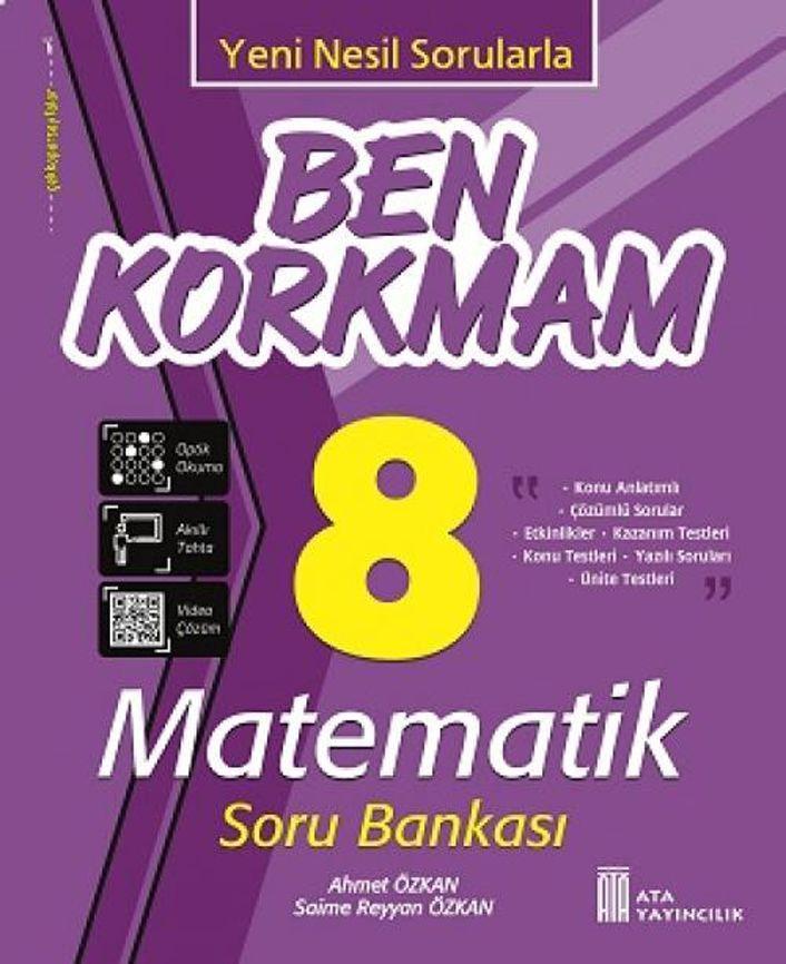 Ata Yayıncılık 8. Sınıf Matematik Ben Korkmam Soru Bankası