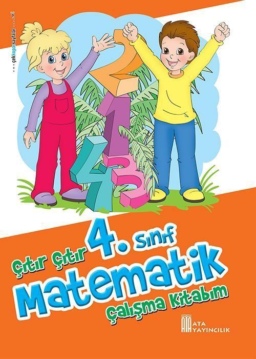 Ata Yayıncılık 4. Sınıf Çıtır Çıtır Matematik Çalışma Kitabım