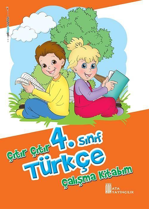 Ata Yayıncılık 4. Sınıf Çıtır Çıtır Türkçe Çalışma Kitabım