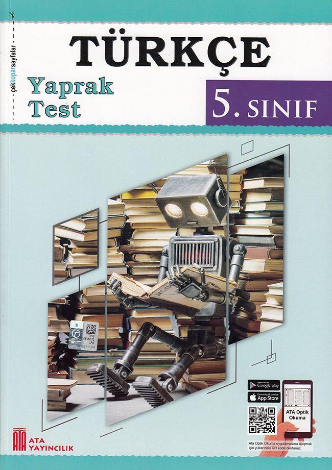 Ata Yayıncılık 5. Sınıf Türkçe Çek Kopar Yaprak Test