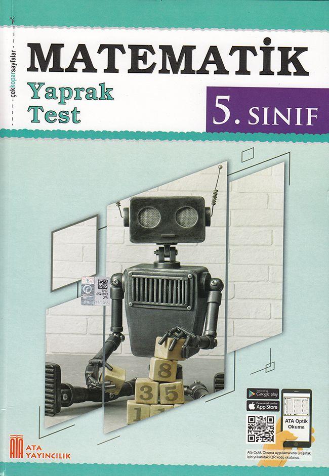 Ata Yayıncılık 5. Sınıf Matematik Çek Kopar Yaprak Test