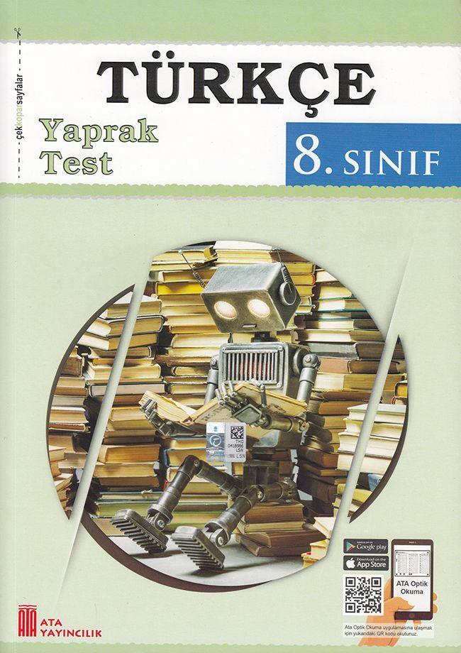 Ata Yayıncılık 8. Sınıf Türkçe Çek Kopar Yaprak Test