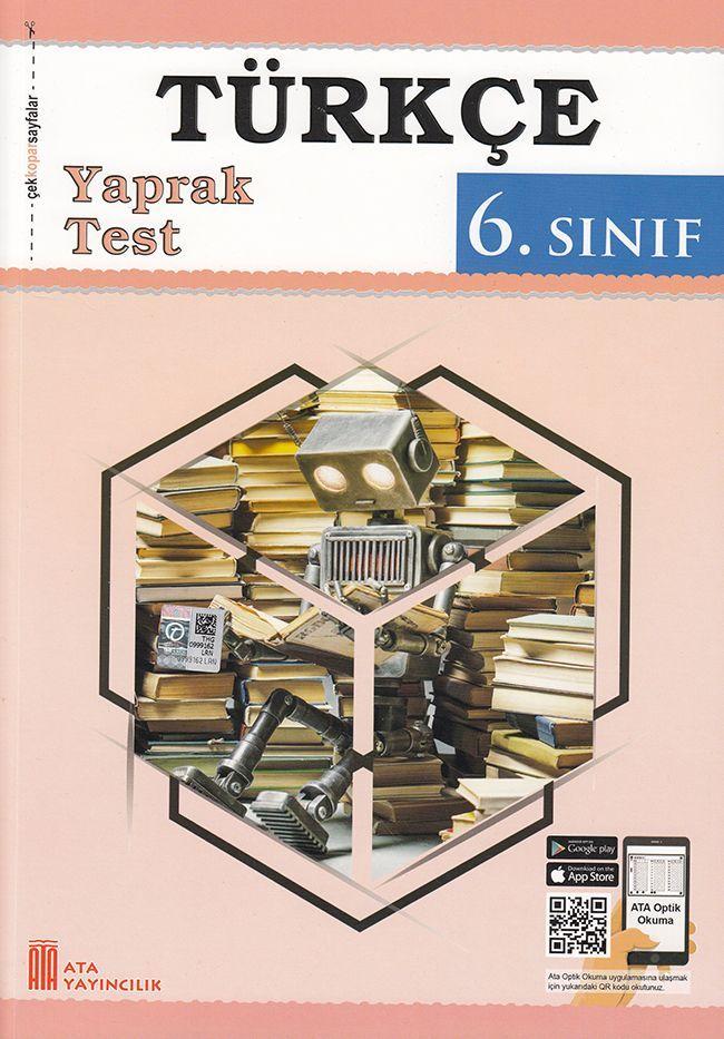 Ata Yayıncılık 6. Sınıf Türkçe Çek Kopar Yaprak Test