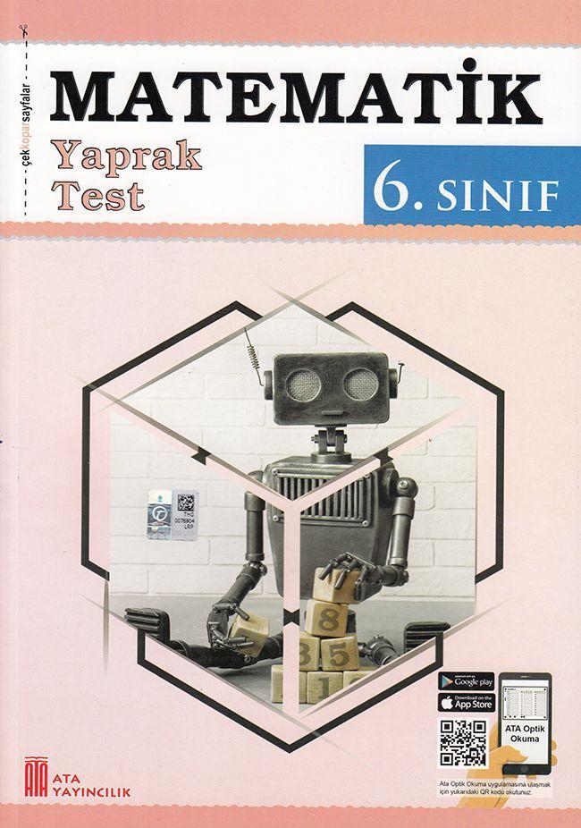 Ata Yayıncılık 6. Sınıf Matematik Çek Kopar Yaprak Test