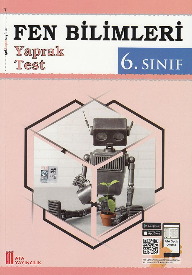 Ata Yayıncılık 6. Sınıf Fen Bilimleri Çek Kopar Yaprak Test