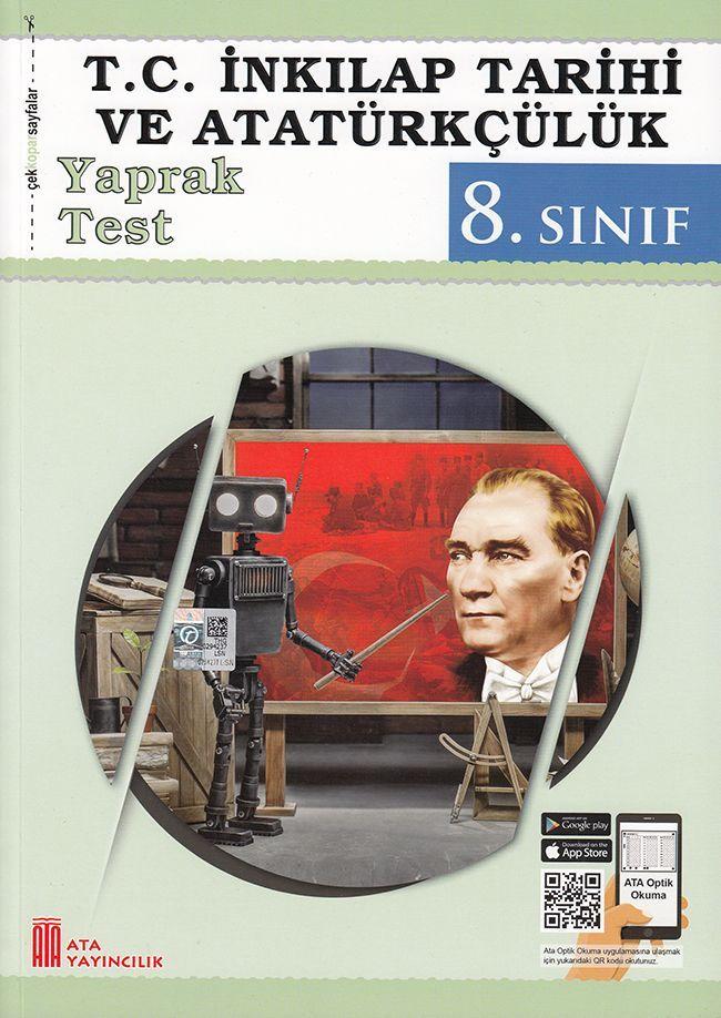 Ata Yayıncılık 8. Sınıf T.C. İnkılap Tarihi ve Atatürkçülük Çek Kopar Yaprak Test