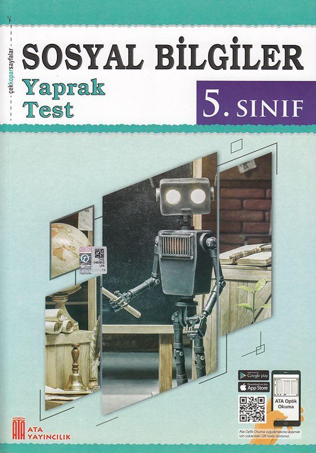 Ata Yayıncılık 5. Sınıf Sosyal Bilgiler Çek Kopar Yaprak Test