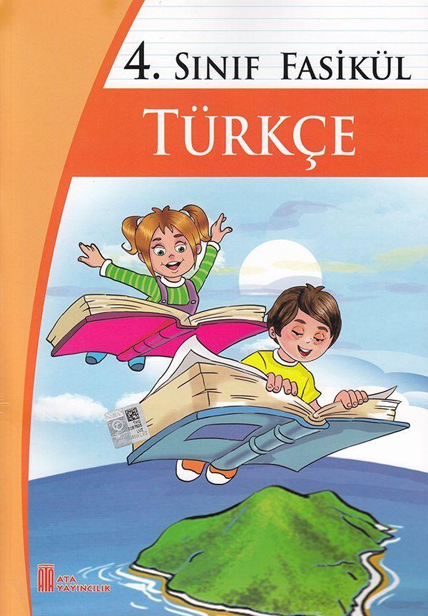 Ata Yayıncılık 4. Sınıf Fasikül Türkçe