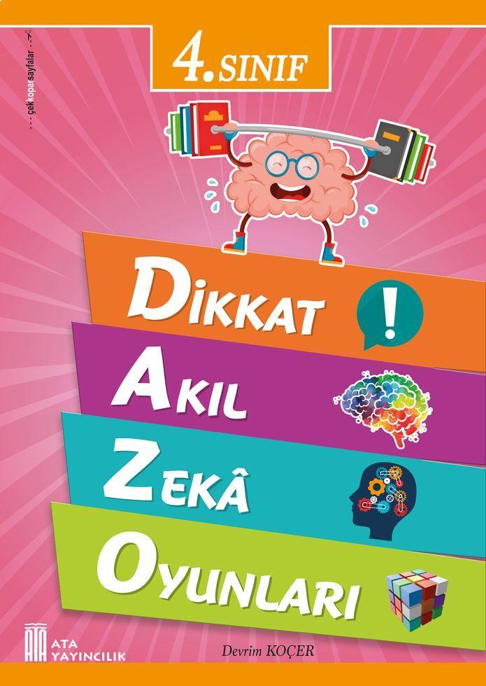 Ata Yayıncılık 4. Sınıf Dikkat Akıl Zeka Oyunları