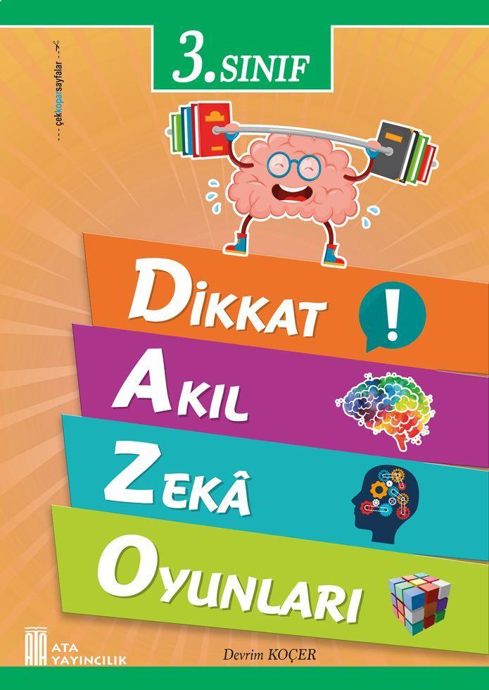 Ata Yayıncılık 3. Sınıf Dikkat Akıl Zeka Oyunları