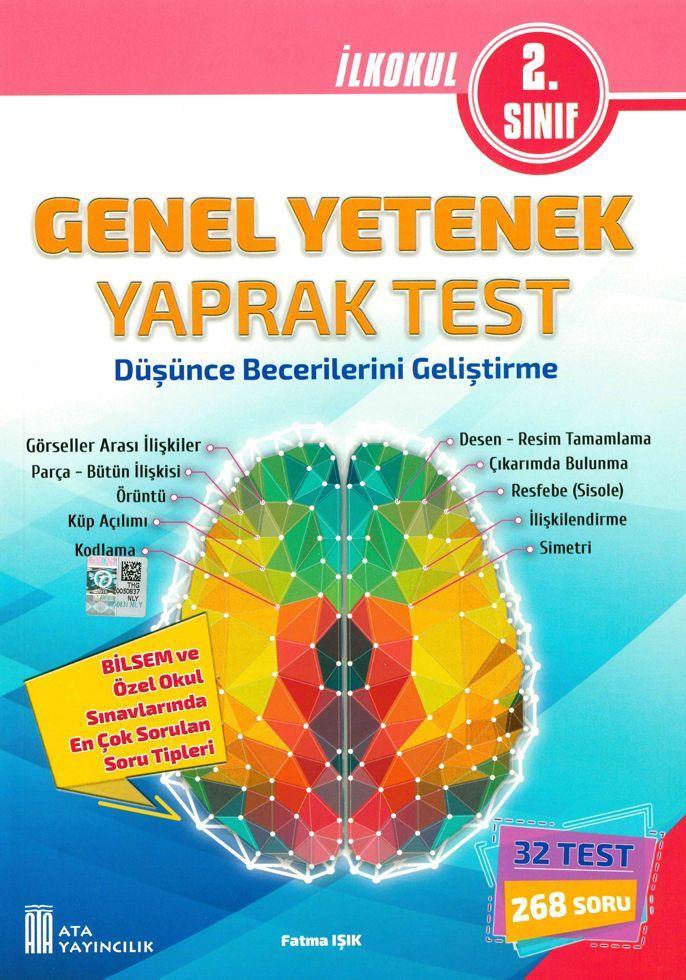 Ata Yayıncılık 2. Sınıf Genel Yetenek Yaprak Test