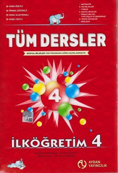Aydan Yayıncılık 4. Sınıf Tüm Dersler
