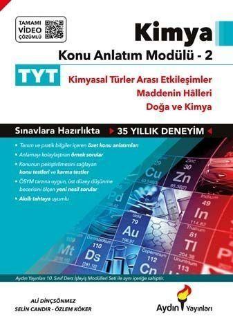 Aydın Yayınları TYT Kimya Konu Anlatım Modülü 2