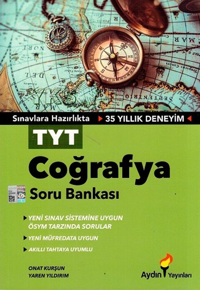 Aydın Yayınları TYT Coğrafya Soru Bankası