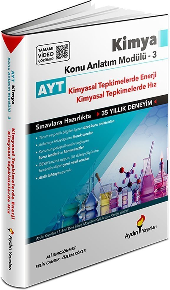 Aydın Yayınları AYT Kimya Konu Anlatım Modülü 3