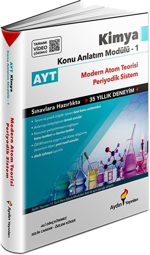 Aydın Yayınları AYT Kimya Konu Anlatım Modülü 1