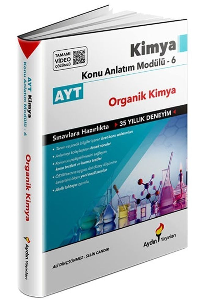 Aydın Yayınları AYT Kimya Konu Anlatım Modülü 6 Organik Kimya