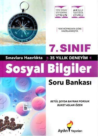 Aydın Yayınları 7. Sınıf Sosyal Bilgiler Soru Bankası