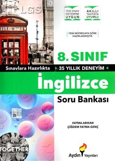 Aydın Yayınları 8. Sınıf İngilizce Soru Bankası