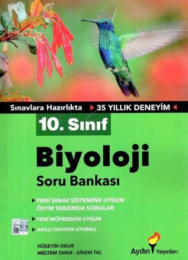 Aydın Yayınları 10. Sınıf Biyoloji Soru Bankası