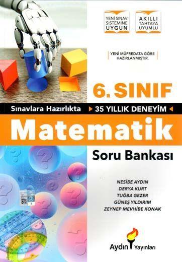 Aydın Yayınları 6. Sınıf Matematik Soru Bankası