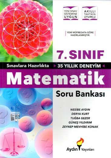 Aydın Yayınları 7. Sınıf Matematik Soru Bankası