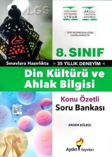 Aydın Yayınları 8. Sınıf Din Kültürü ve Ahlak Bilgisi Konu Özetli Soru Bankası