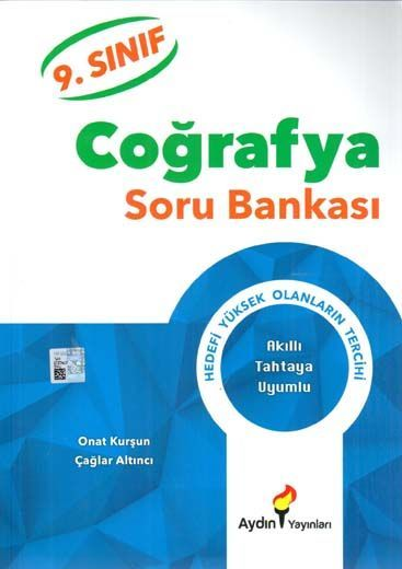 Aydın Yayınları 9. Sınıf Coğrafya Soru Bankası