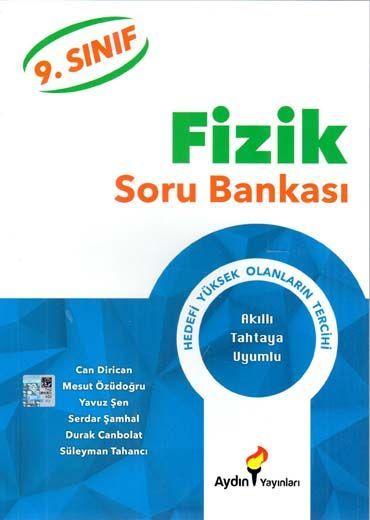 Aydın Yayınları 9. Sınıf Fizik Soru Bankası