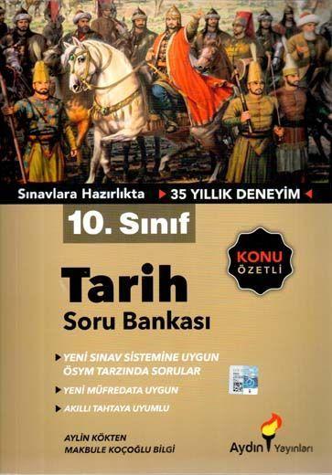 Aydın Yayınları 10. Sınıf Tarih Soru Bankası