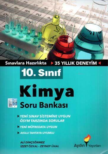 Aydın Yayınları 10. Sınıf Kimya Soru Bankası