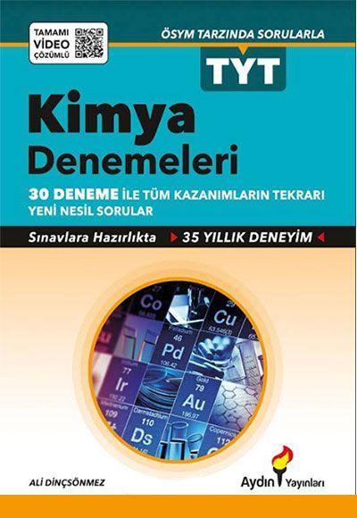 Aydın Yayınları TYT Kimya Denemeleri