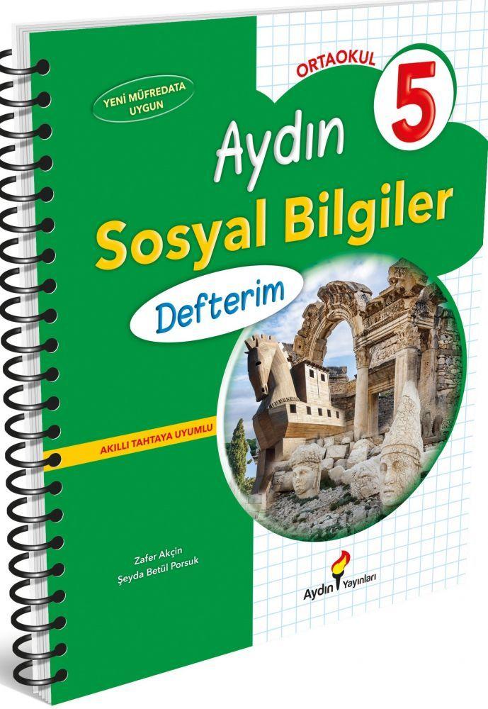 Aydın Yayınları 5. Sınıf Aydın Sosyal Bilgiler Defterim