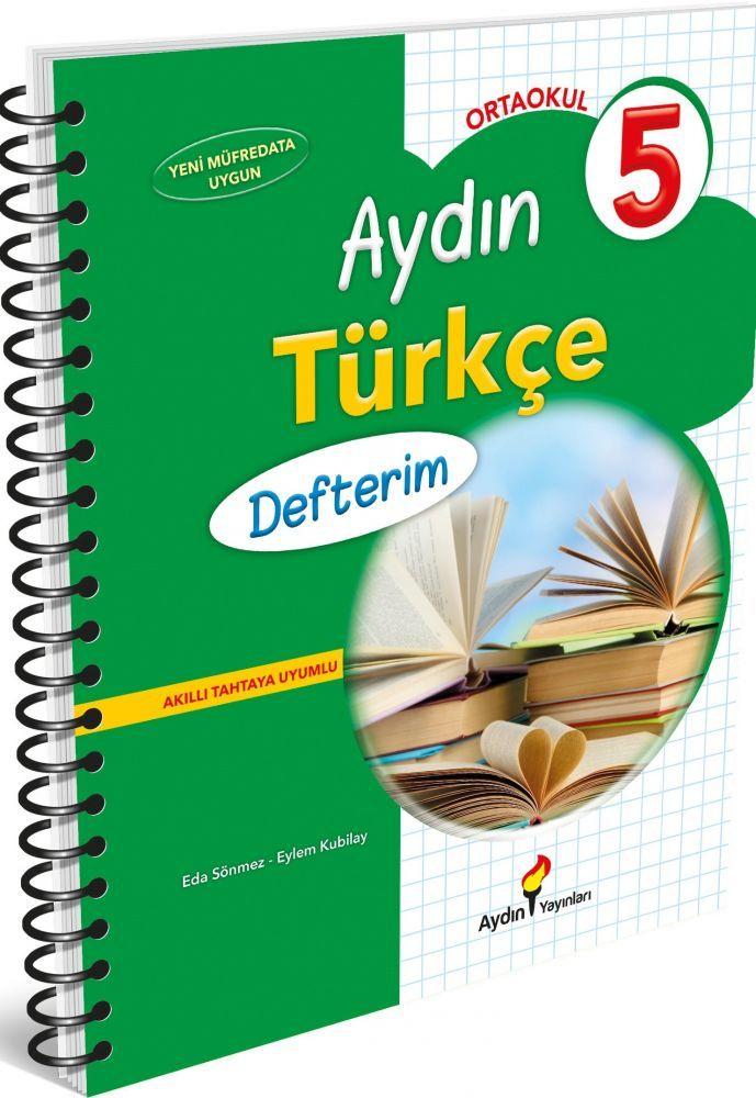 Aydın Yayınları 5. Sınıf Aydın Türkçe Defterim