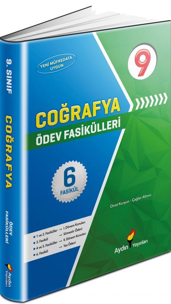 Aydın Yayınları 9. Sınıf Coğrafya Ödev Fasikülleri