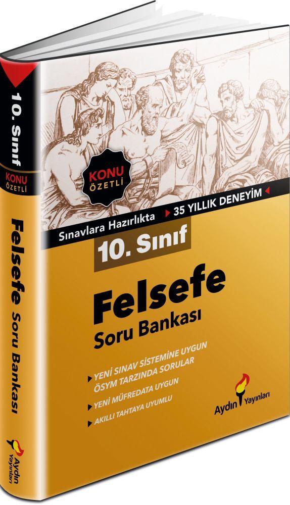 Aydın Yayınları 10. Sınıf Felsefe Konu Özetli Soru Bankası