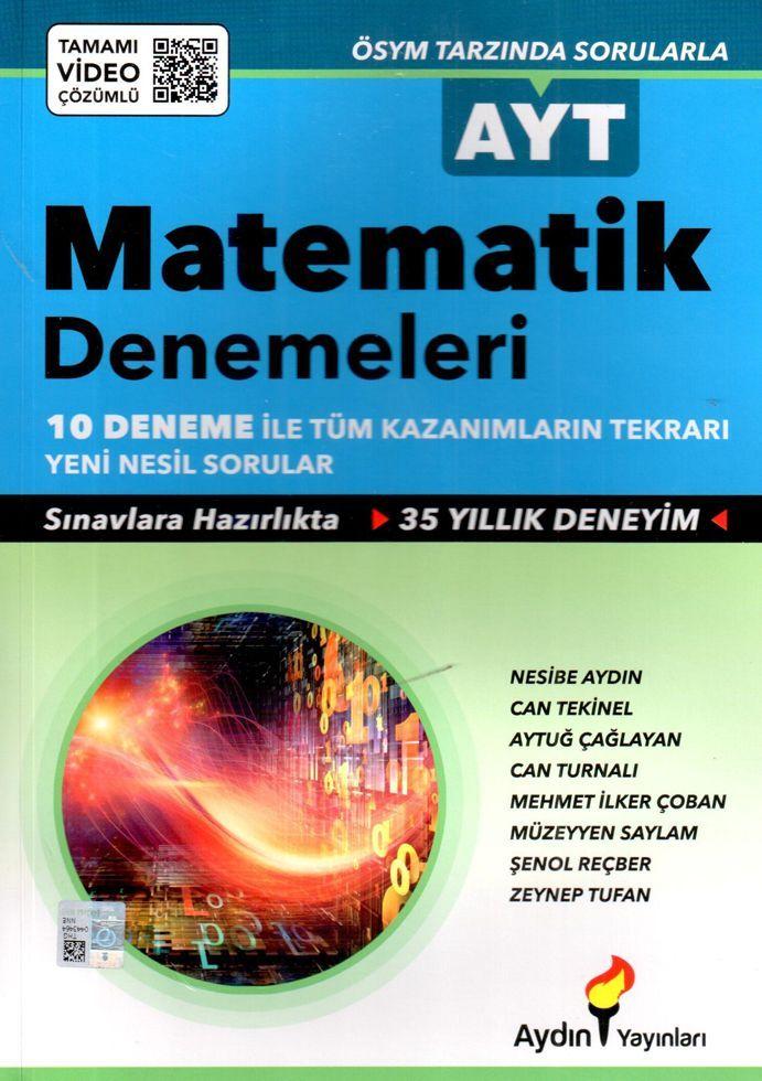 Aydın Yayınları AYT Matematik Denemeleri