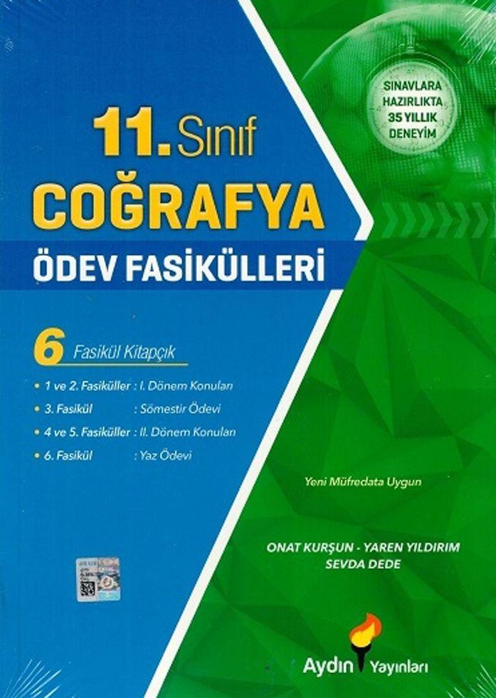 Aydın Yayınları 11. Sınıf Coğrafya Ödev Fasikülleri